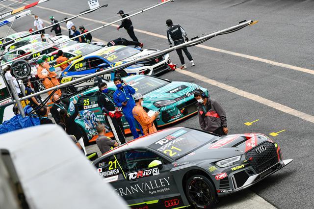 画像2: 【TCRJ Rd.3 OKAYAMA】Audiの篠原選手が2連勝