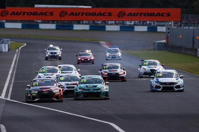 画像9: 【TCRJ Rd.3 OKAYAMA】Audiの篠原選手が2連勝