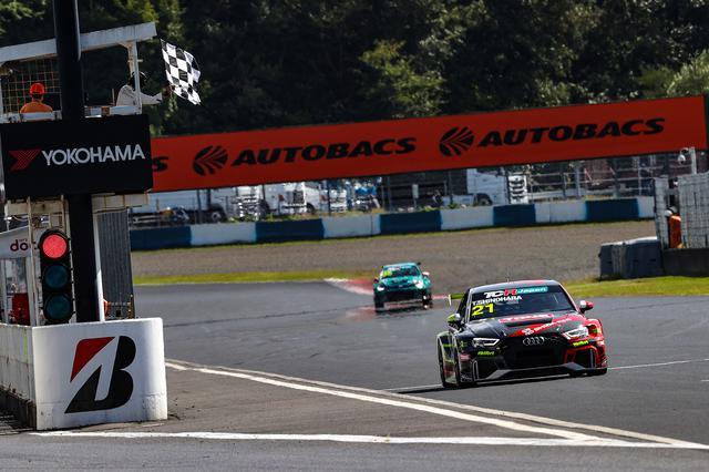 画像12: 【TCRJ Rd.3 OKAYAMA】Audiの篠原選手が2連勝