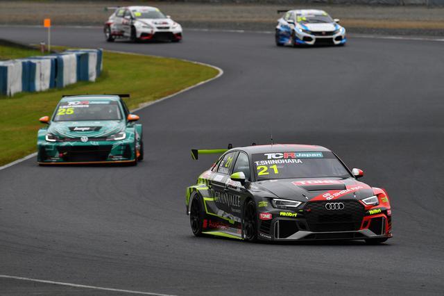画像5: 【TCRJ Rd.3 OKAYAMA】Audiの篠原選手が2連勝
