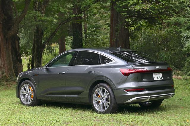 画像3: 【試乗記】Audi e-tron Sportback 1st edition