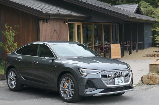 画像1: 【試乗記】Audi e-tron Sportback 1st edition