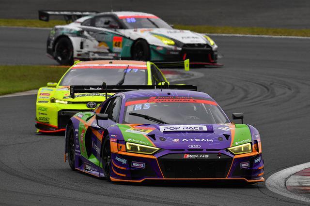 画像7: 【SUPER GT Rd.5 Fuji】Audi Team Hitotsuyamaが惜しくも入賞を逃す
