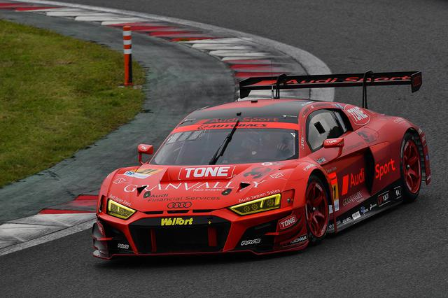 画像2: 【SUPER GT Rd.5 Fuji】Audi Team Hitotsuyamaが惜しくも入賞を逃す