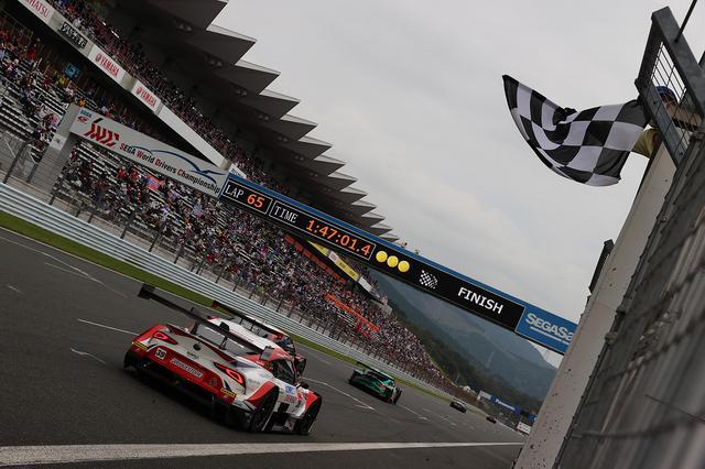 画像10: 【SUPER GT Rd.5 Fuji】Audi Team Hitotsuyamaが惜しくも入賞を逃す