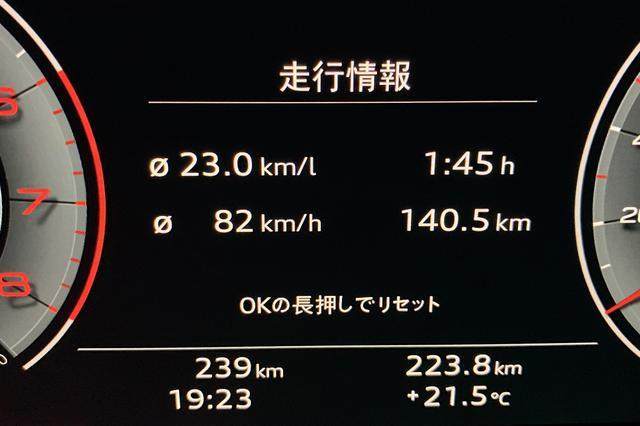 画像2: 【燃費調査】Audi A4 35 TFSIの燃費に驚き!