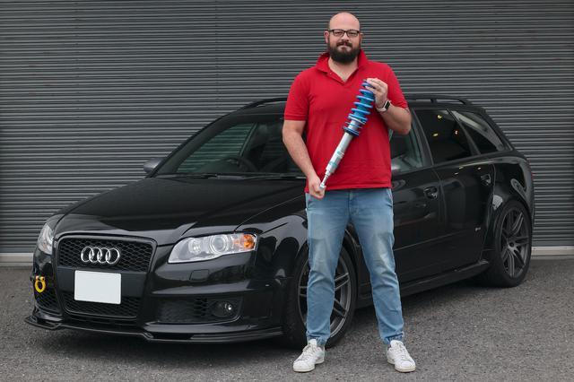 画像2: 【BILSTEIN】Audi RS 4 AvantをB16でリフレッシュ