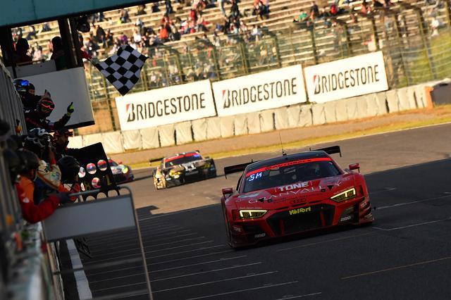 画像1: 【SUPER GT Rd.6 Suzuka】Audi Team Hitotsuyamaが4年ぶりに優勝!
