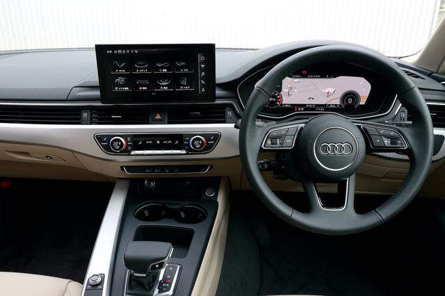 画像2: 【試乗記】Audi A4 35 TFSI advanced