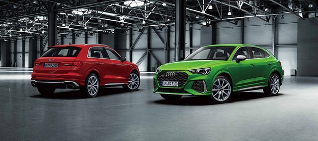 画像1: 「Audi RS Q3」「Audi RS Q3 Sportback」発表