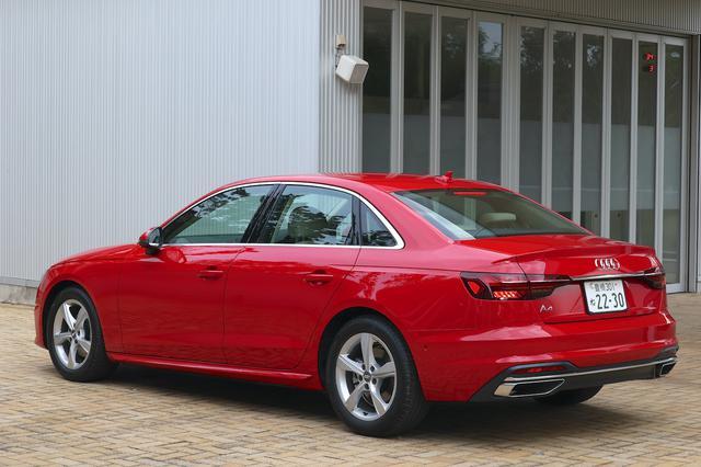 画像4: 【試乗記】Audi A4 35 TFSI advanced