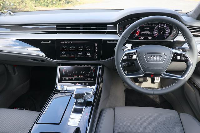 画像2: 【ミニ試乗記】Audi S8