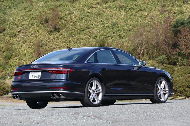 画像5: 【ミニ試乗記】Audi S8