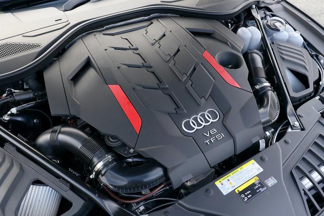 画像4: 【ミニ試乗記】Audi S8