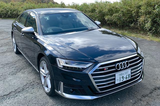 画像1: 【ミニ試乗記】Audi S8