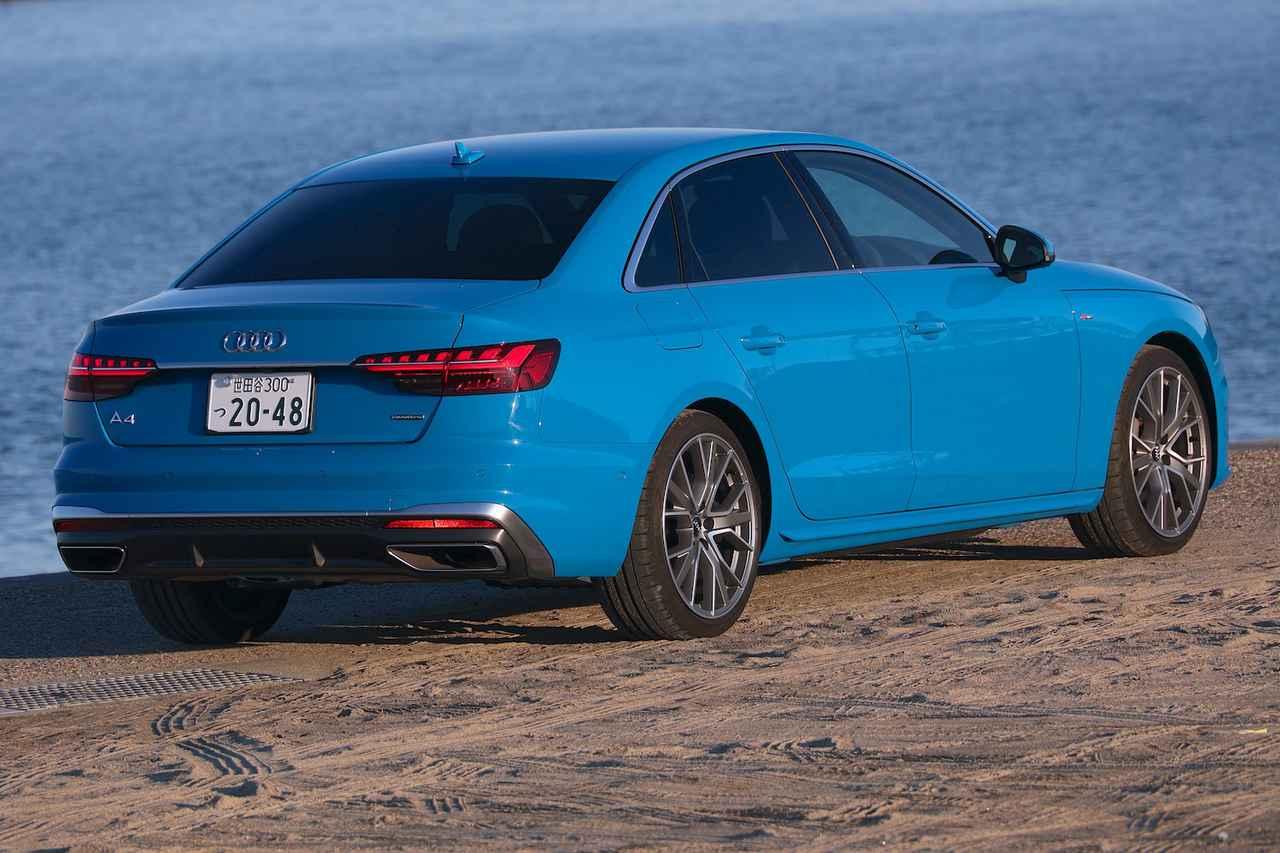 画像4: 【ミニ試乗記】Audi A4 45 TFSI quattro S line