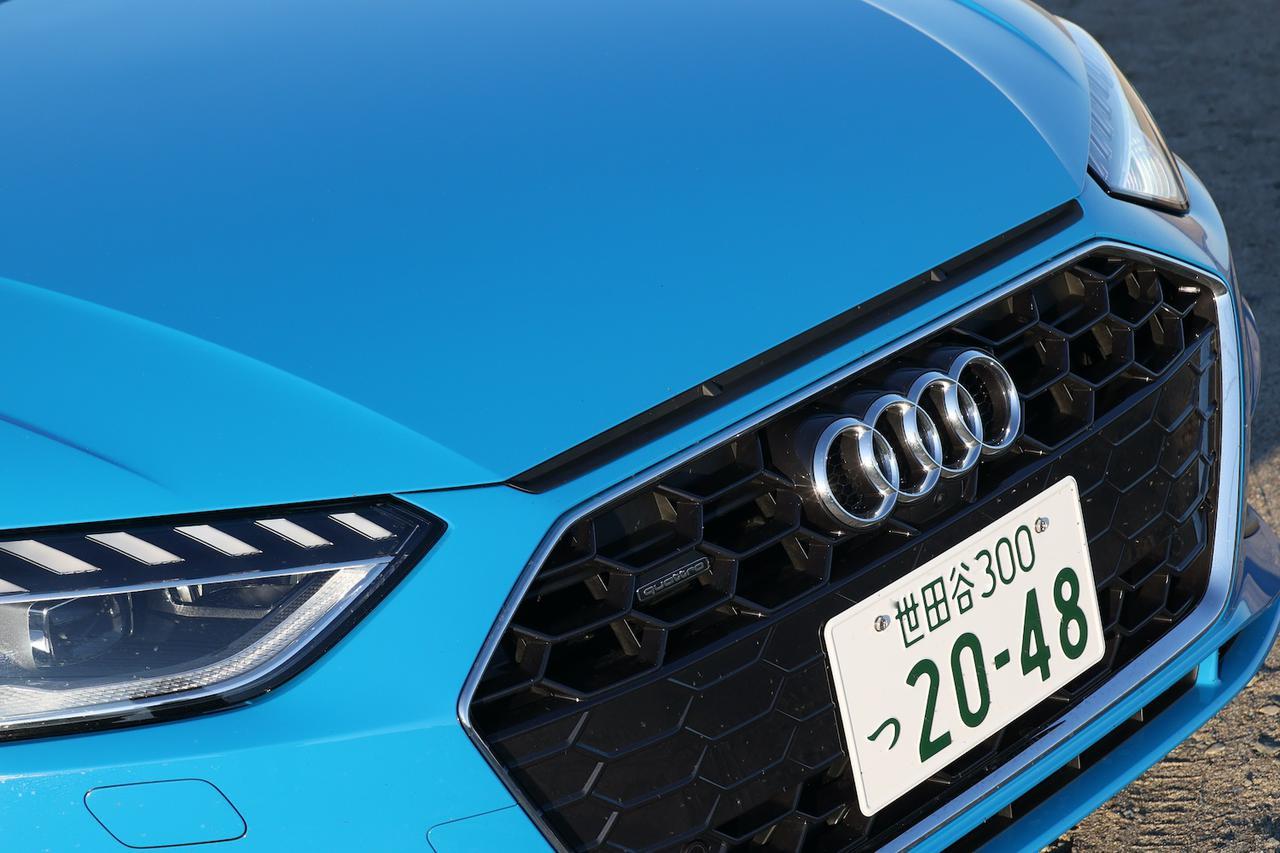 画像2: 【ミニ試乗記】Audi A4 45 TFSI quattro S line