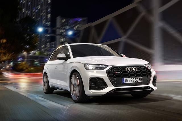 画像1: 「Audi SQ5」がマイナーチェンジ