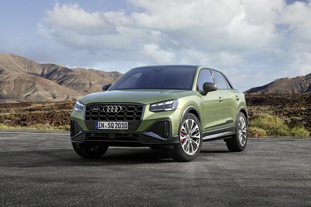 画像1: 「Audi SQ2」がマイナーチェンジ