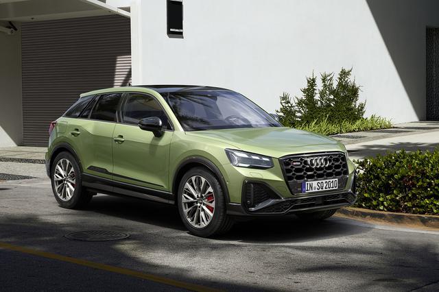 画像2: 「Audi SQ2」がマイナーチェンジ
