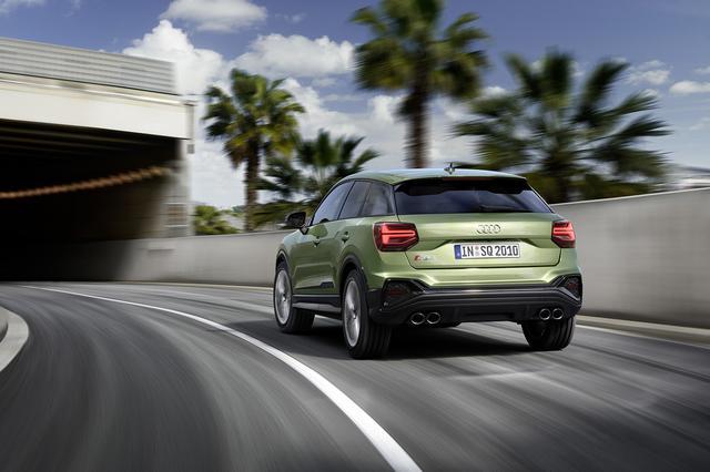 画像8: 「Audi SQ2」がマイナーチェンジ