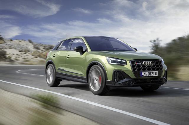 画像7: 「Audi SQ2」がマイナーチェンジ