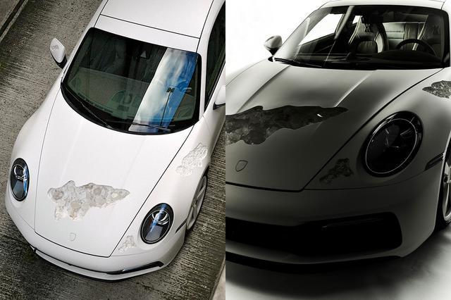 画像2: 「Crystal Eroded Porsche 911」を日本初公開