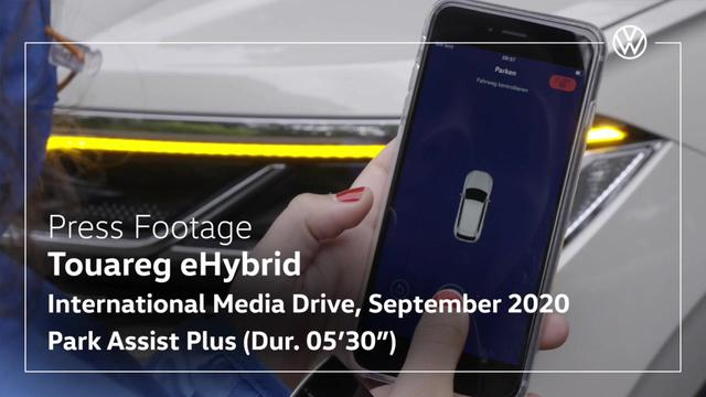 画像: Volkswagen Touareg eHybrid - Park Assist Plus - Video