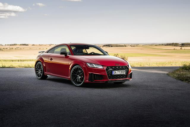 画像1: 欧州で「Audi TTS competition plus」登場