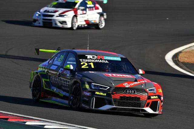 画像5: 【TCRJ Rd.6 FUJI】Audiの篠原選手が2連勝