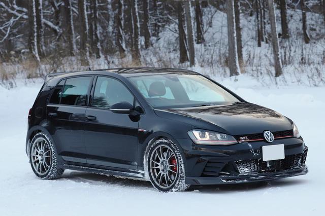 画像: 【GTI Clubsport】VikingContact 7で雪道へ - 8speed.net VW、Audi、Porscheがもっと楽しくなる自動車情報サイト