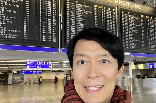 画像: 見学ツアーがスタートする第1ターミナルにて。