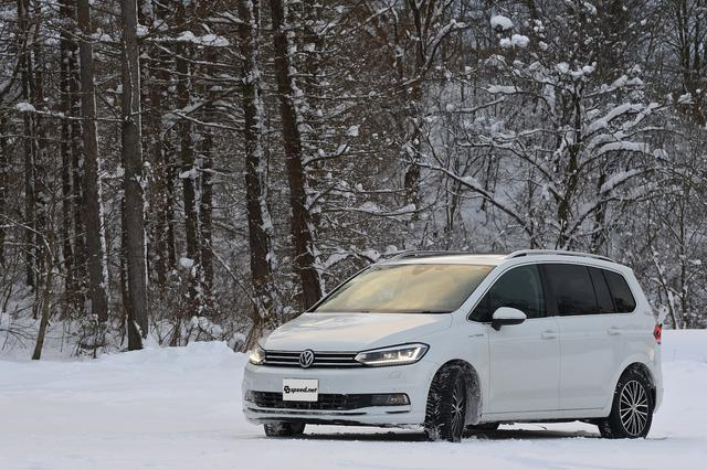 画像1: 【Golf Touran TDI】【T-Cross】オールシーズンタイヤで雪道へ