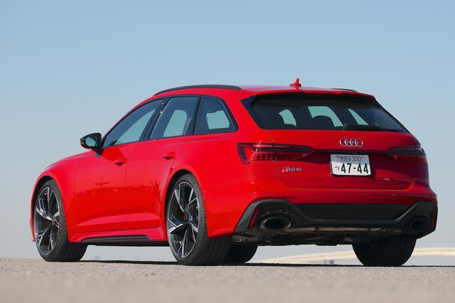 画像12: 【ミニ試乗記】Audi RS 6 Avant