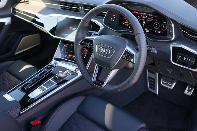 画像6: 【ミニ試乗記】Audi RS 6 Avant