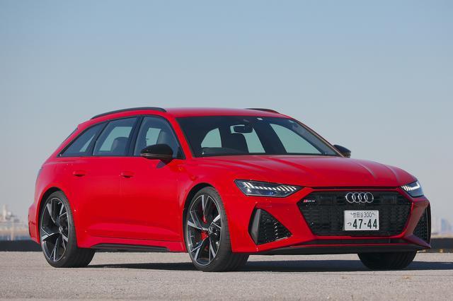 画像1: 【ミニ試乗記】Audi RS 6 Avant