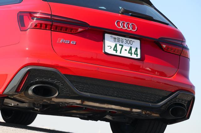 画像5: 【ミニ試乗記】Audi RS 6 Avant