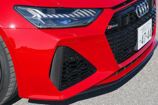 画像4: 【ミニ試乗記】Audi RS 6 Avant