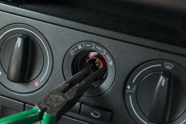 画像4: 【Lupo GTI】エアコンパネルのイルミが点かなくて