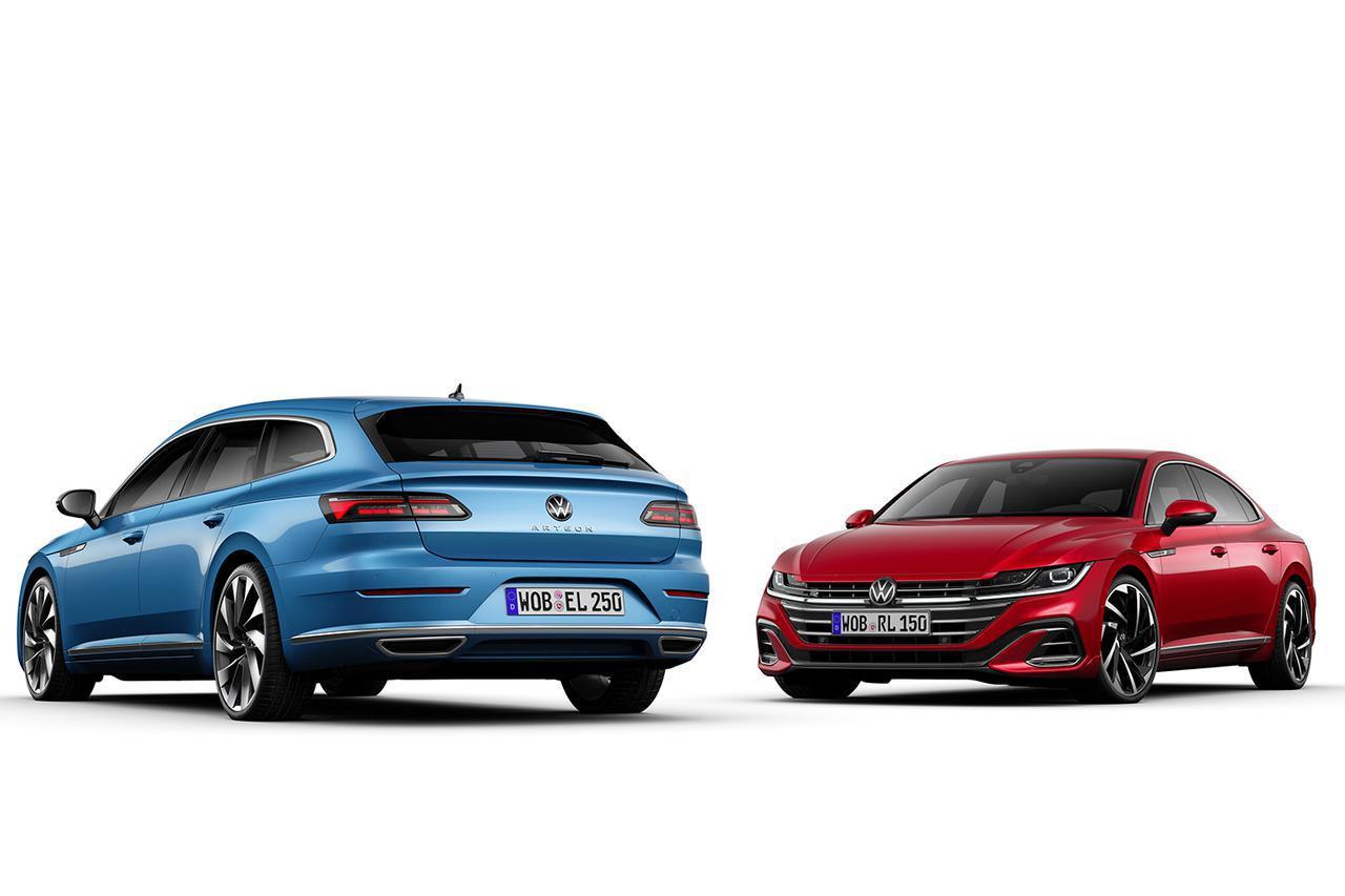 画像: アルテオンがフェイスリフト! 「シューティングブレーク」や「R」「eハイブリッド」を追加 - 8speed.net VW、Audi、Porscheがもっと楽しくなる自動車情報サイト
