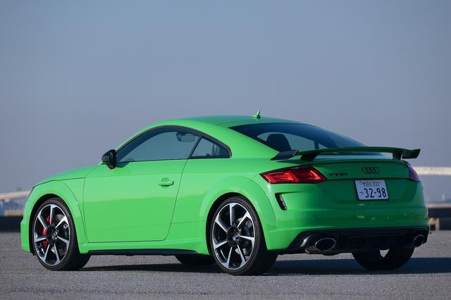 画像10: 【ミニ試乗記】Audi TT RS Coupe