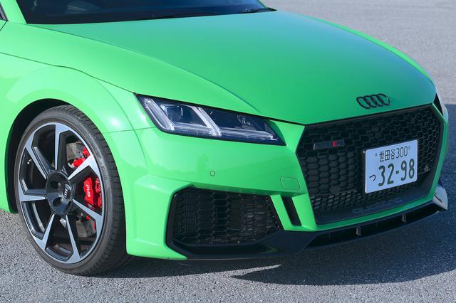 画像3: 【ミニ試乗記】Audi TT RS Coupe