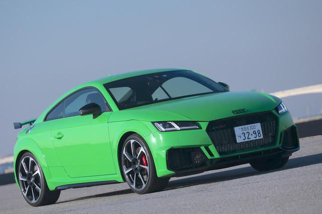 画像2: 【ミニ試乗記】Audi TT RS Coupe