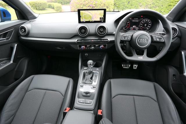 画像2: 【ミニ試乗記】Audi Q2 1st edition[再]