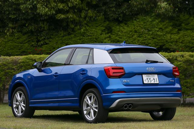 画像11: 【ミニ試乗記】Audi Q2 1st edition[再]