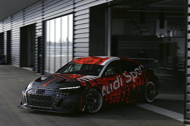 画像1: 新型「Audi RS 3 LMS」がワールドプレミア