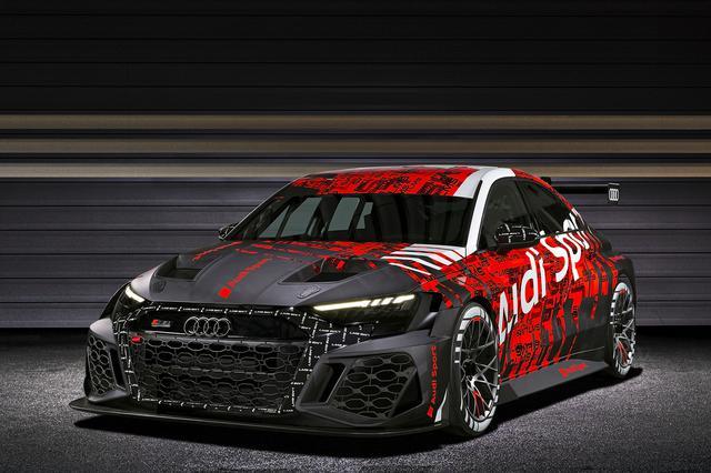 画像2: 新型「Audi RS 3 LMS」がワールドプレミア