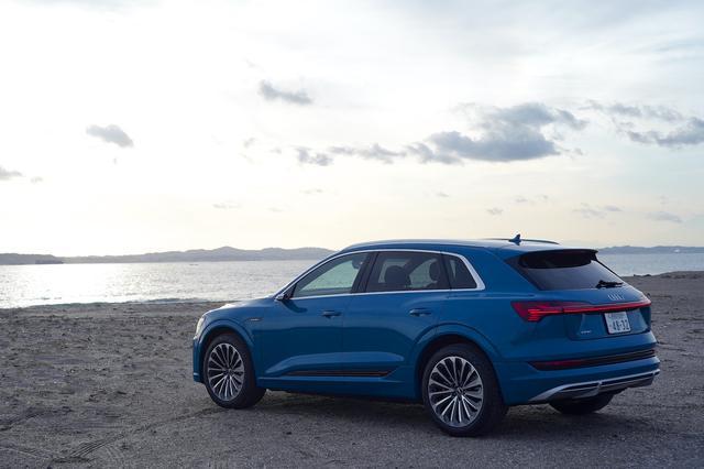画像4: 【ミニ試乗記】Audi e-tron 50 quattro S line
