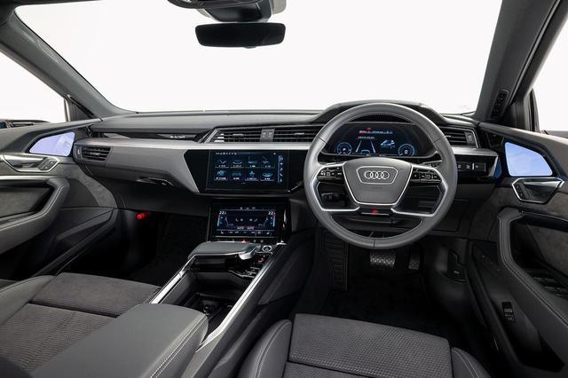 画像2: 【ミニ試乗記】Audi e-tron 50 quattro S line