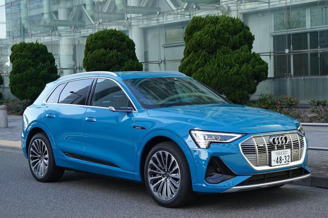画像1: 【ミニ試乗記】Audi e-tron 50 quattro S line